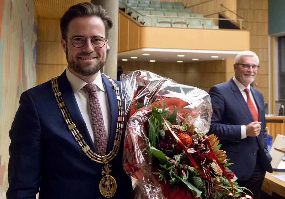 Peter Rahbæk Juel og Anker Boye