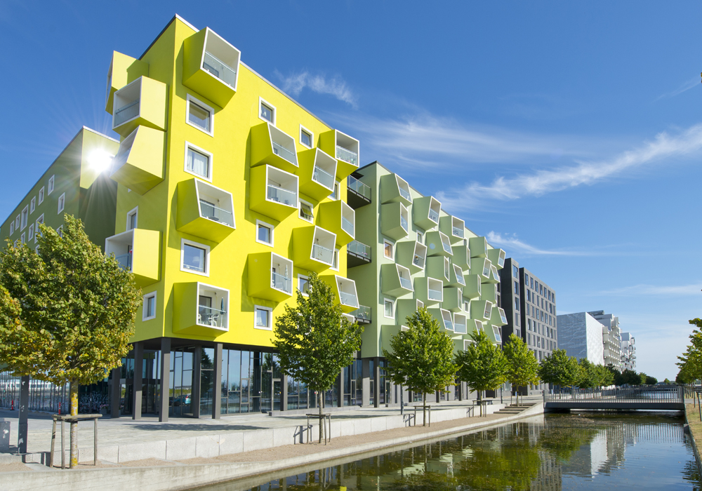 Byggeri i Ørestaden